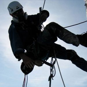 Rope access and abseiling services in London